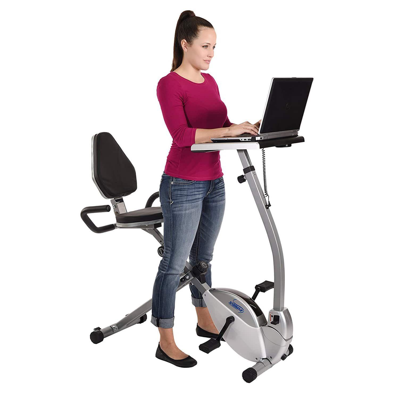 Best Exercise Bike Standing Desks, Standing Desk Stationary Bike