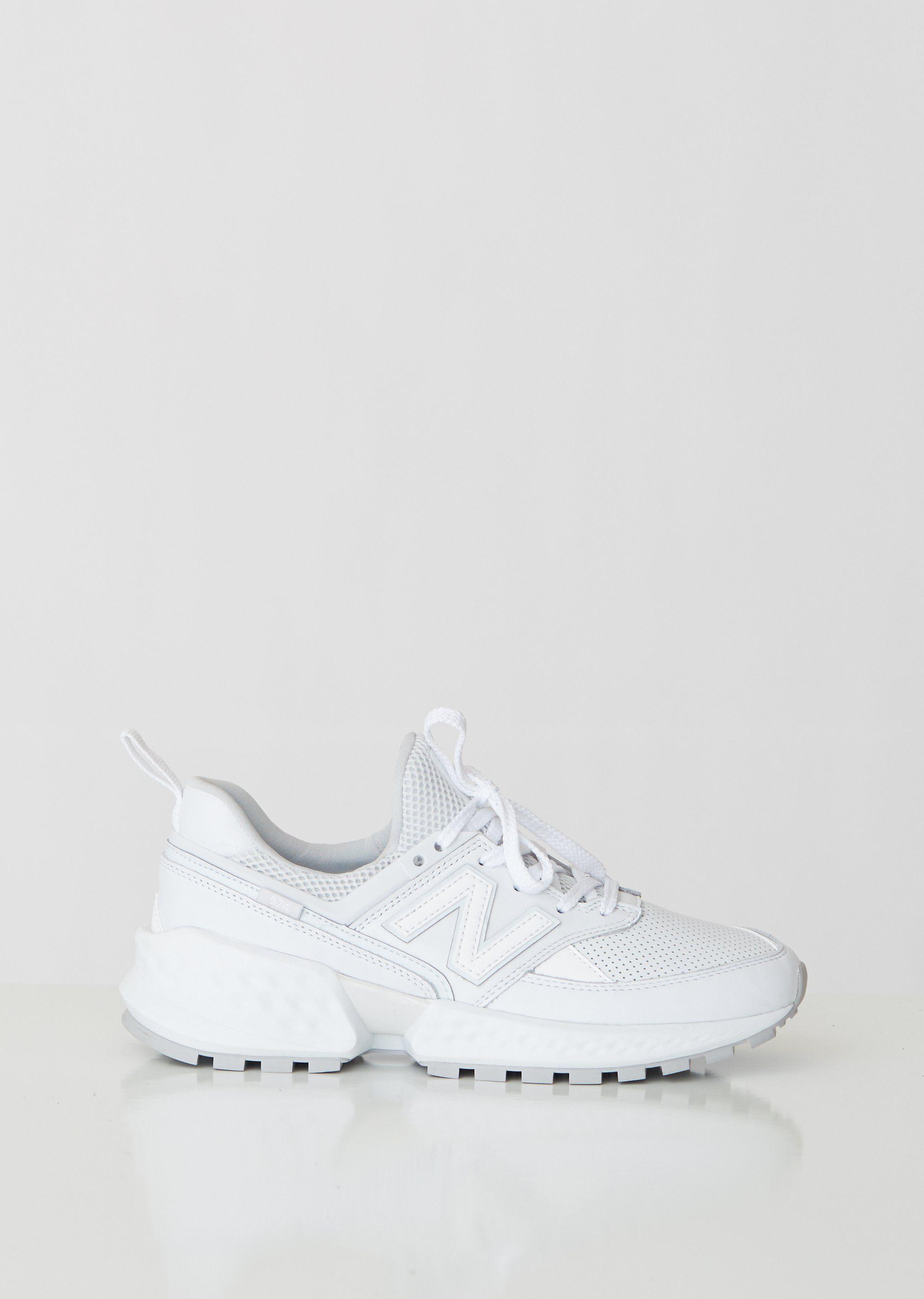 574 Sport Leather Sneakers by New Balance La Garçonne in