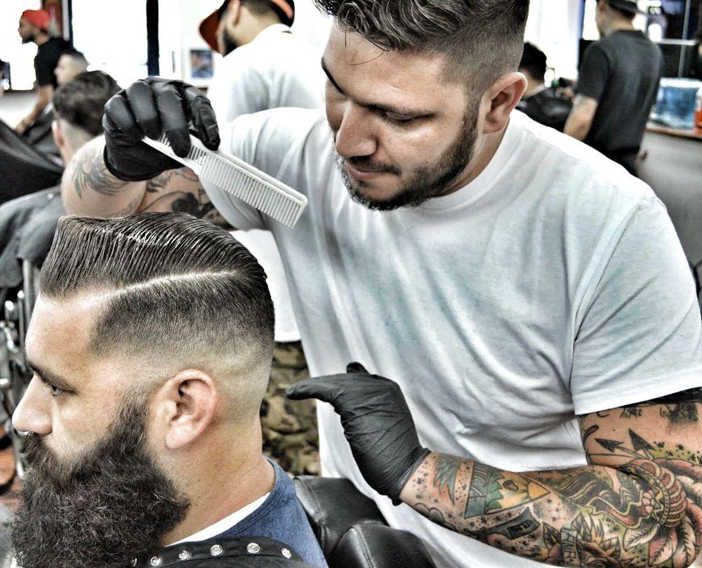 Barber - Google Keres Mustache Beard And Hair Styles