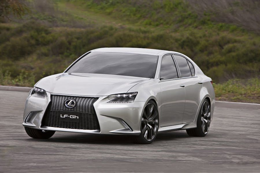 The Lexus GS is a midlevel luxury sedan and is a level