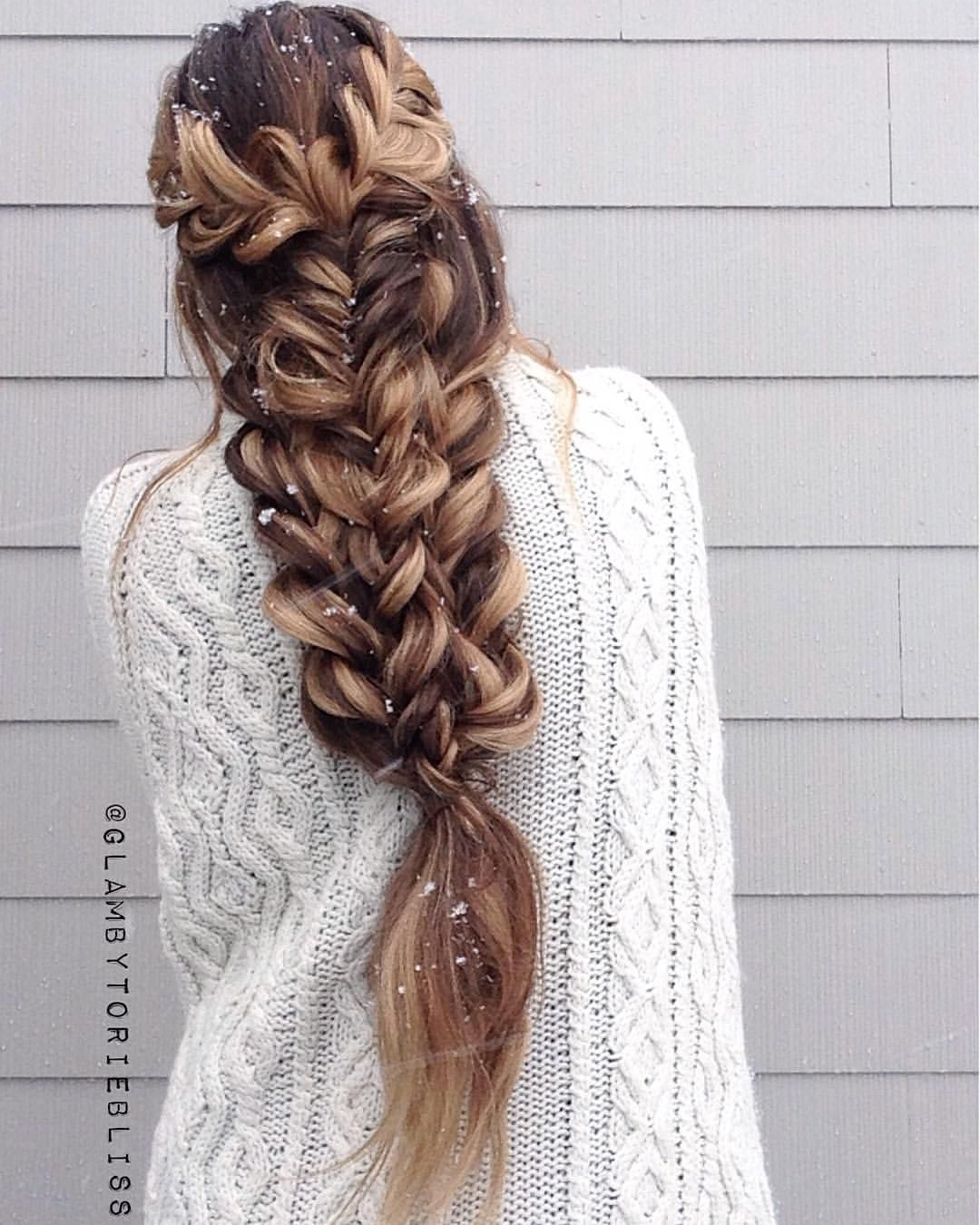 "BRAIDS • BOHO HAIR • WEDDINGS On Instagram: ""{snowflakes"