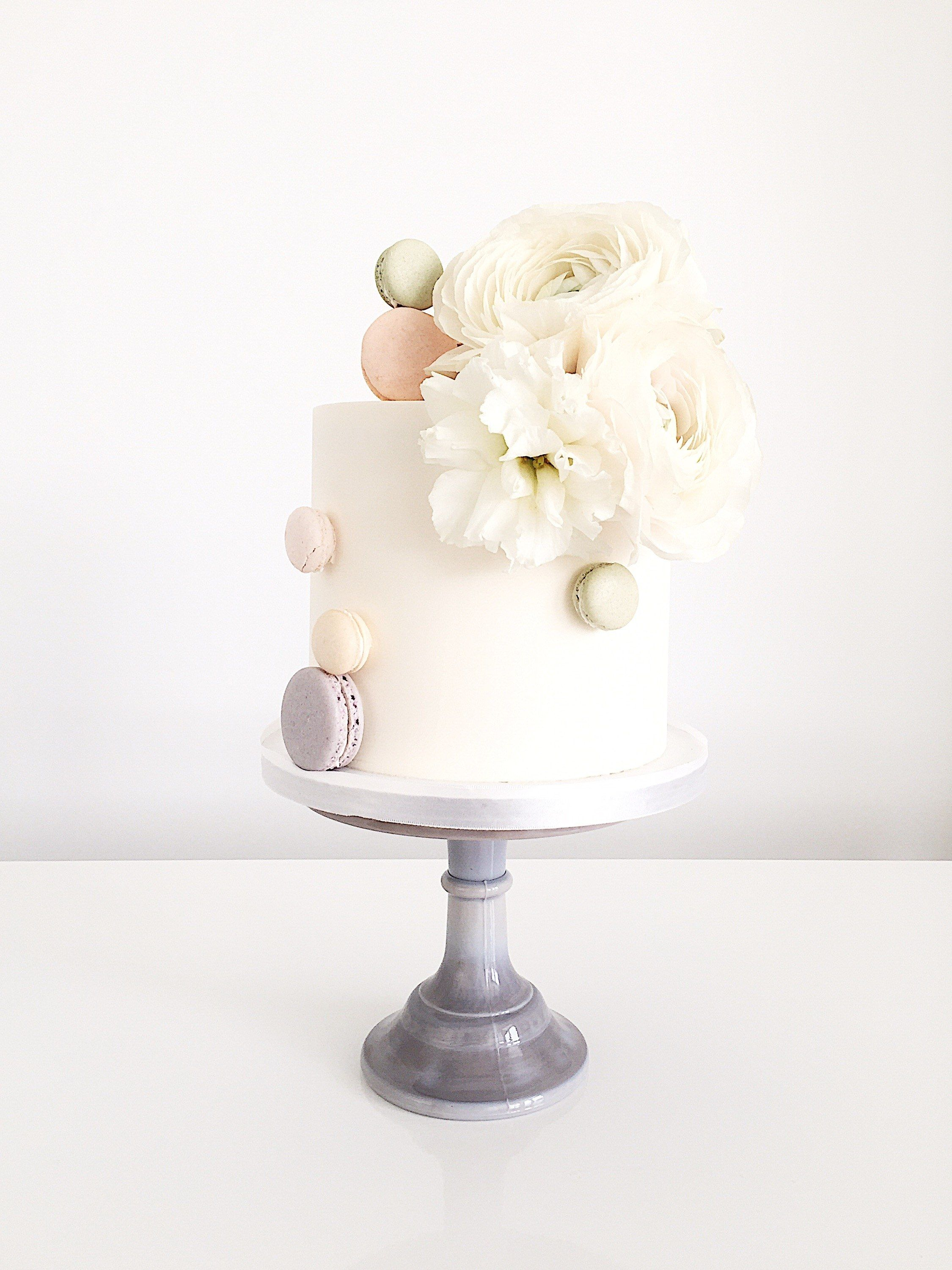 OneTier Wedding Cakes That Are Works Of Art Brides Nekad Cake - Cake Works Wedding Works
