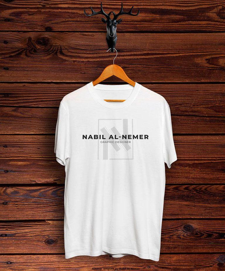 Download Free Realistic T Shirt Mockup Shirt Mockup Tshirt Mockup T Shirt Design Template