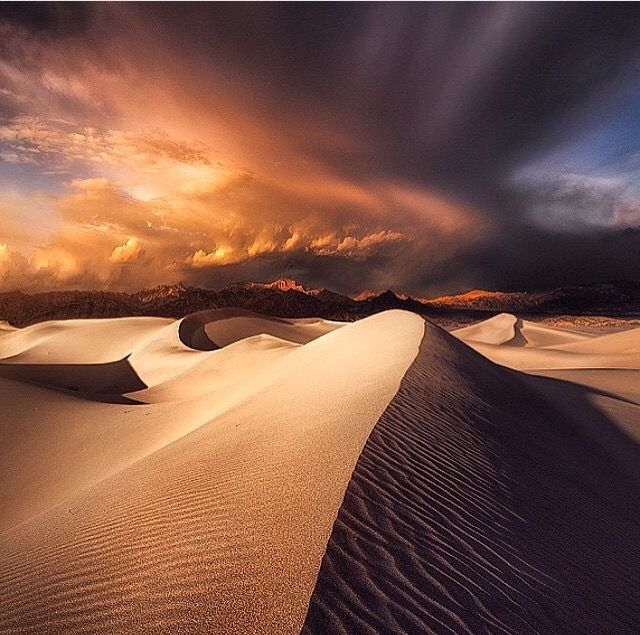 When The Night Comes, Death Valley, CA