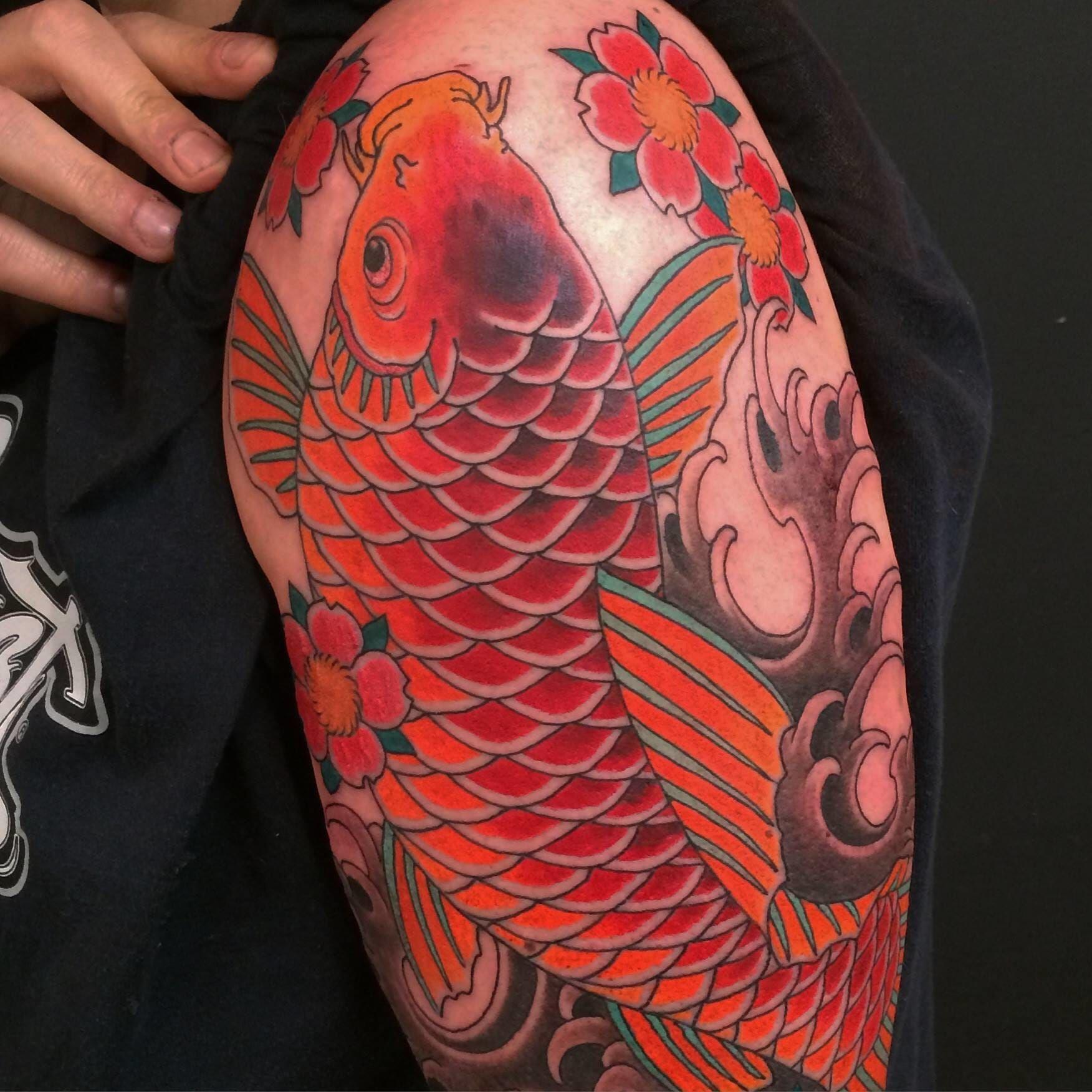 18 Killer Koi Designs   Pinterest   Chris garver, Japanese tattoos ...