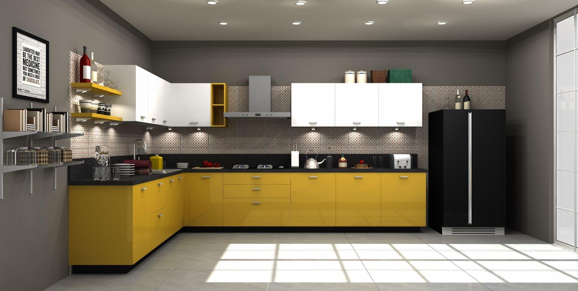 Find The Best Sleek Modular Kitchen Design Available Pan India Kitchen Design Kitchen Modern Kitchen