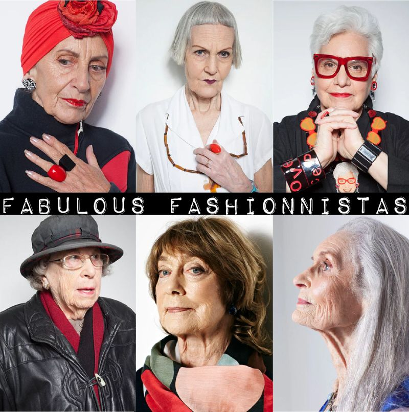 Old Lady Fashionista
