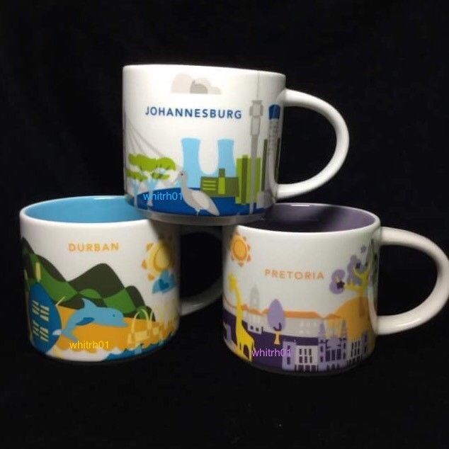 6ae014132b1 Starbucks Johannesburg South Africa You Are Here YAH One of First 3000  762111134004 | eBay
