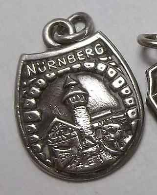rare vintage sterling silver nurnberg germany 800 silver charm pendant ebay german. Black Bedroom Furniture Sets. Home Design Ideas