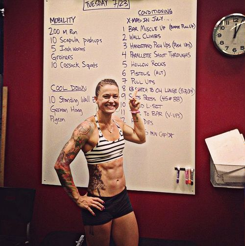 Christmas Abbott Workout.Girls Who Do Crossfit Photo Ink Christmas Abbott