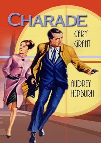 CHARADE 1963 - Cary Grant - Audrey Hepburn - Directed by Stanley Donen _  Universal - DVD cover art  Film afileri Sinema Film