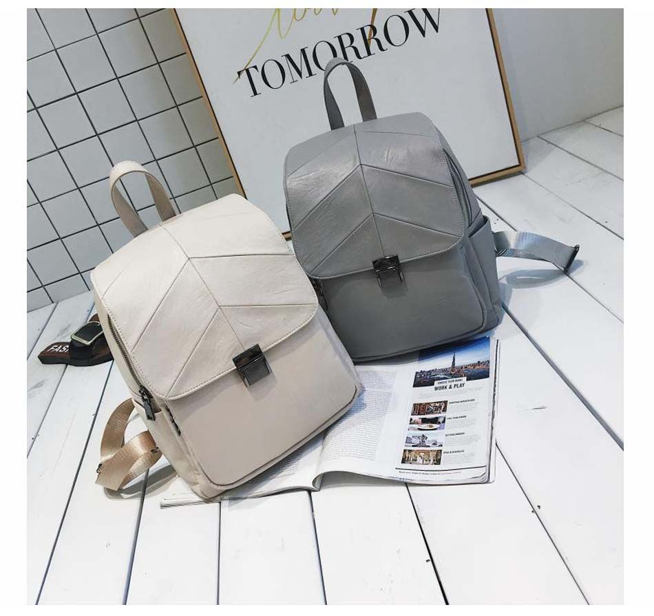 Photo of US $44.74 |Luxy moon Women Backpack Lady Grey Fresh Backpacks PU Leather Bag For Teenage Girls 2018 Hasp Casual School Bags Mochila XA887H|bags for teenagers|bags for teenage girlswomen backpack – AliExpress