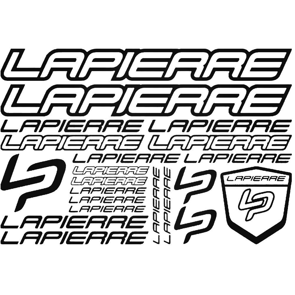 Lapierre LOGO V2 Mountain Road Bike Stickers Autocollants Cadre Vélo Cyclisme Sports