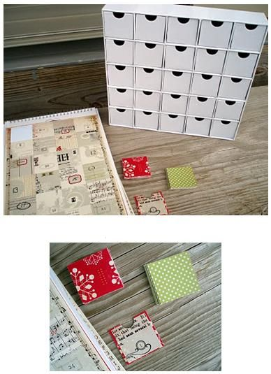 Holiday Crafts, Projects and Ideas • DIY Advent Calendar Craft