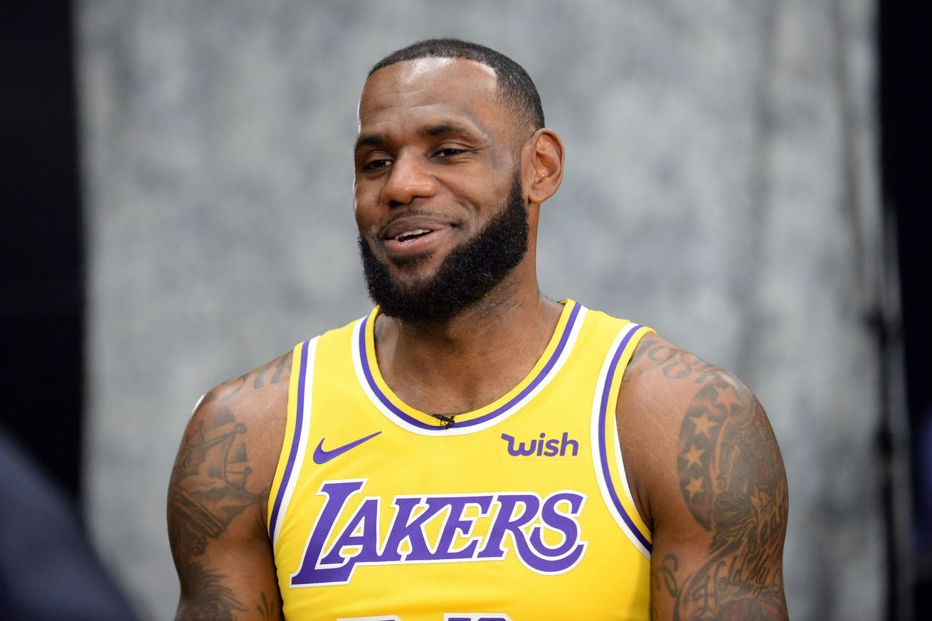 See the new Lakers jerseys LeBron James & Co. wore at