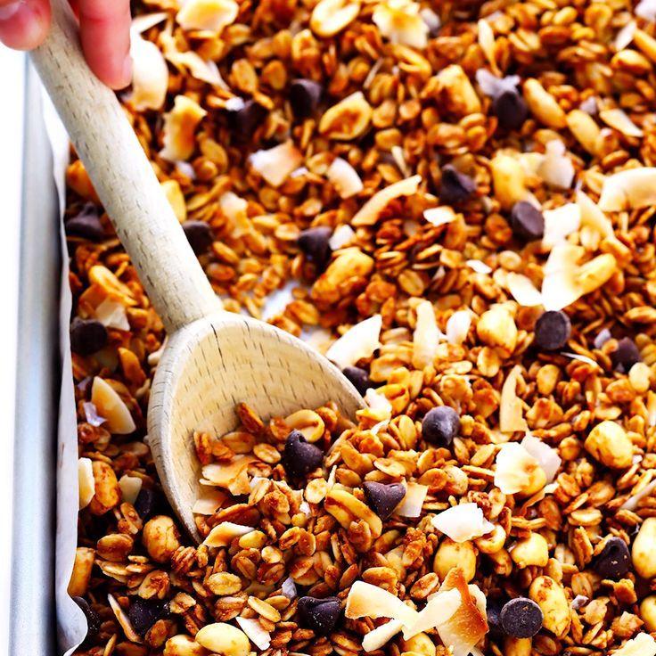 Irresistible Peanut Butter Granola   Gimme Some Ov