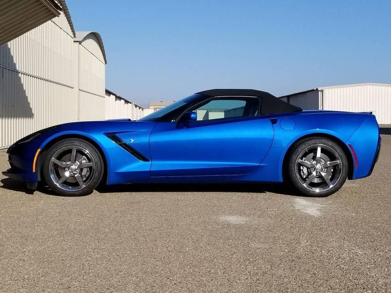 Corvette Stingray Convertible 2014 Corvette Convertible For Sale In California 44000 Like New 2014 Corvette Stin 2014 Corvette Corvette Convertible Corvette