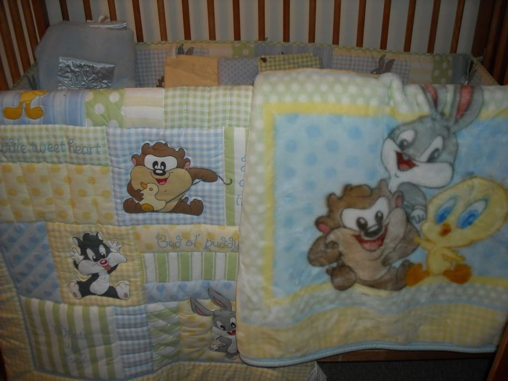 Baby Looney Tunes Crib Set Kika Baby Looney Tunes Crib Bedding