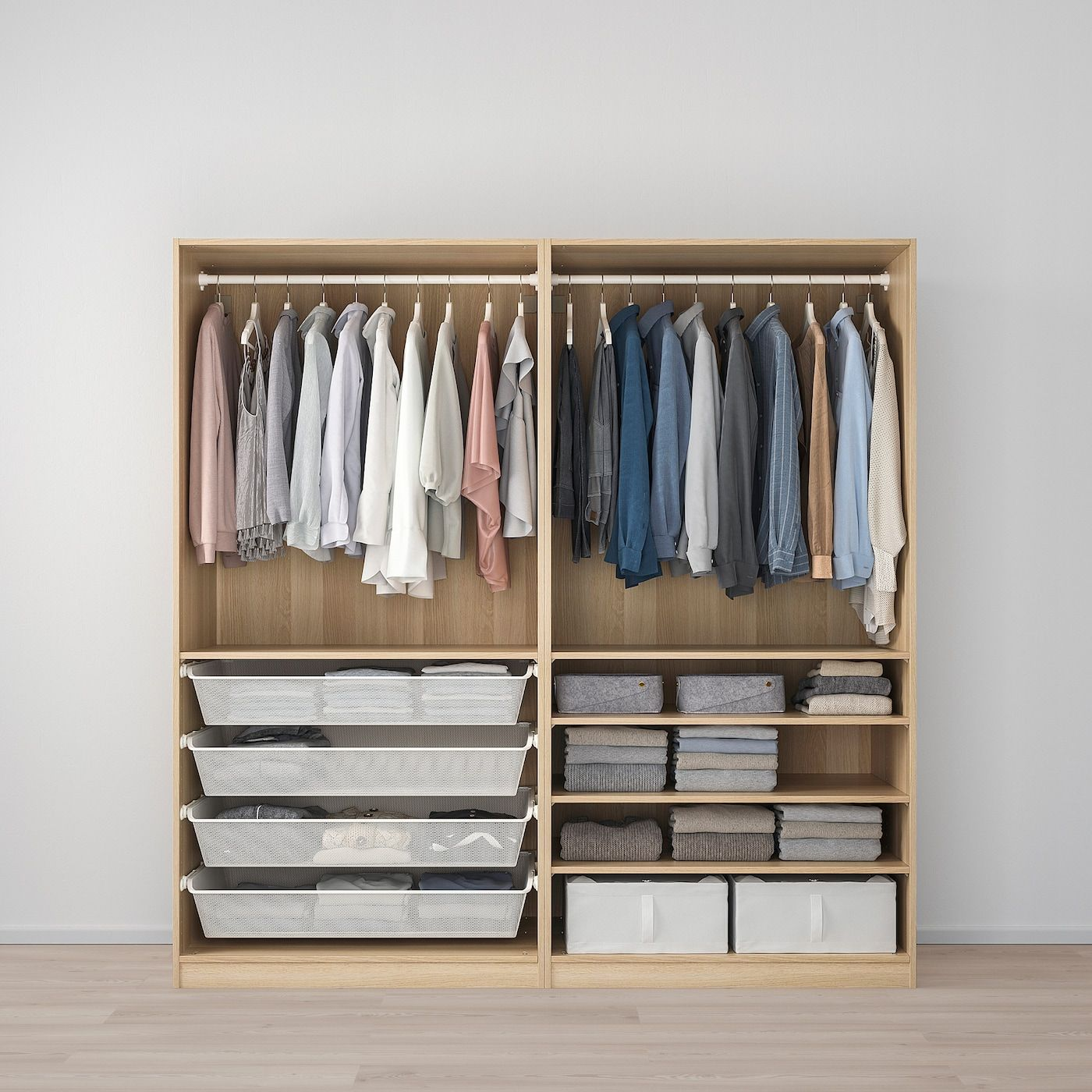 Pax Armoire Penderie In 2020 Ikea Pax Wardrobe White Stain