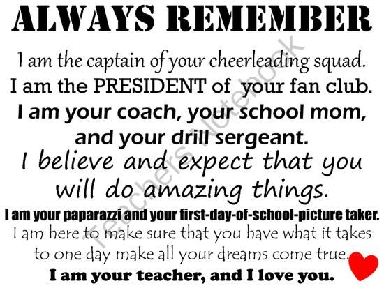 Always Remember Poster from Peach Teach 3 ~Teaching 3rd grade in