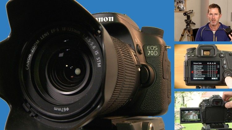 How to Shoot Great Video with your Canon 70D DSLR camera ...
