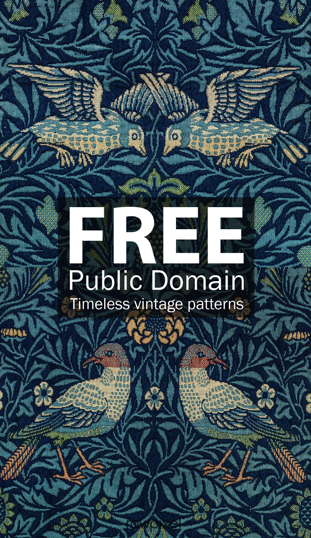 Download Timeless Vintage Patterns By William Morris A 19th Century English Celebrated Designer Crafts Vintage Patterns William Morris Designs William Morris