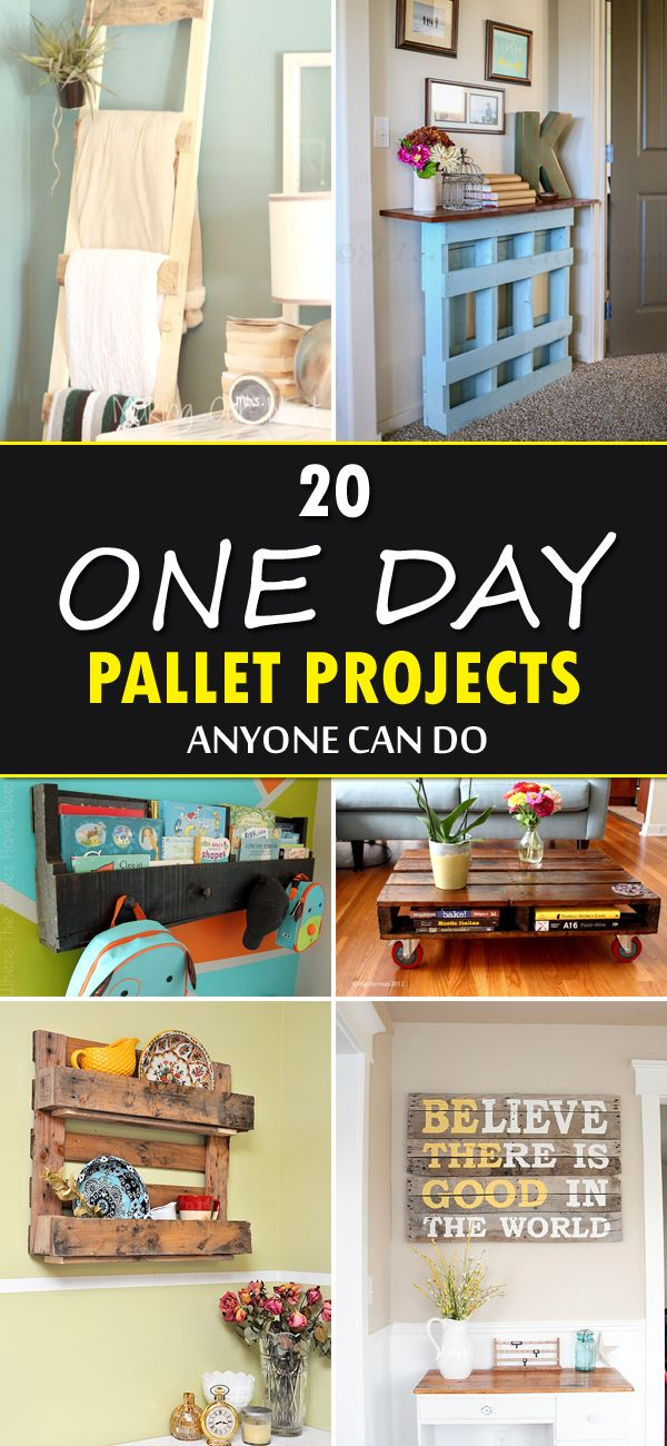 20 fantastic DIY pallet projects that you