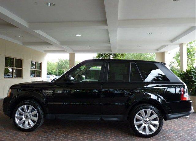 2012 Land Rover Range Rover Sport Santorini Black 10153333 Range Rover Range Rover Sport Land Rover