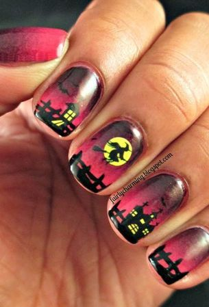 Do it yourself halloween nail art inspiration nails pinterest solutioingenieria Image collections