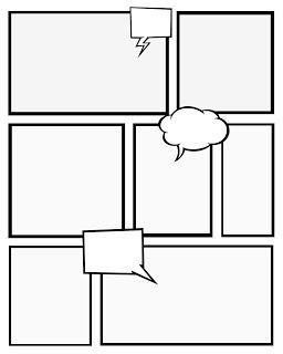 Free Printable Comic Book Templates   And This Blogger Uses Them To Teach  Her Kids About