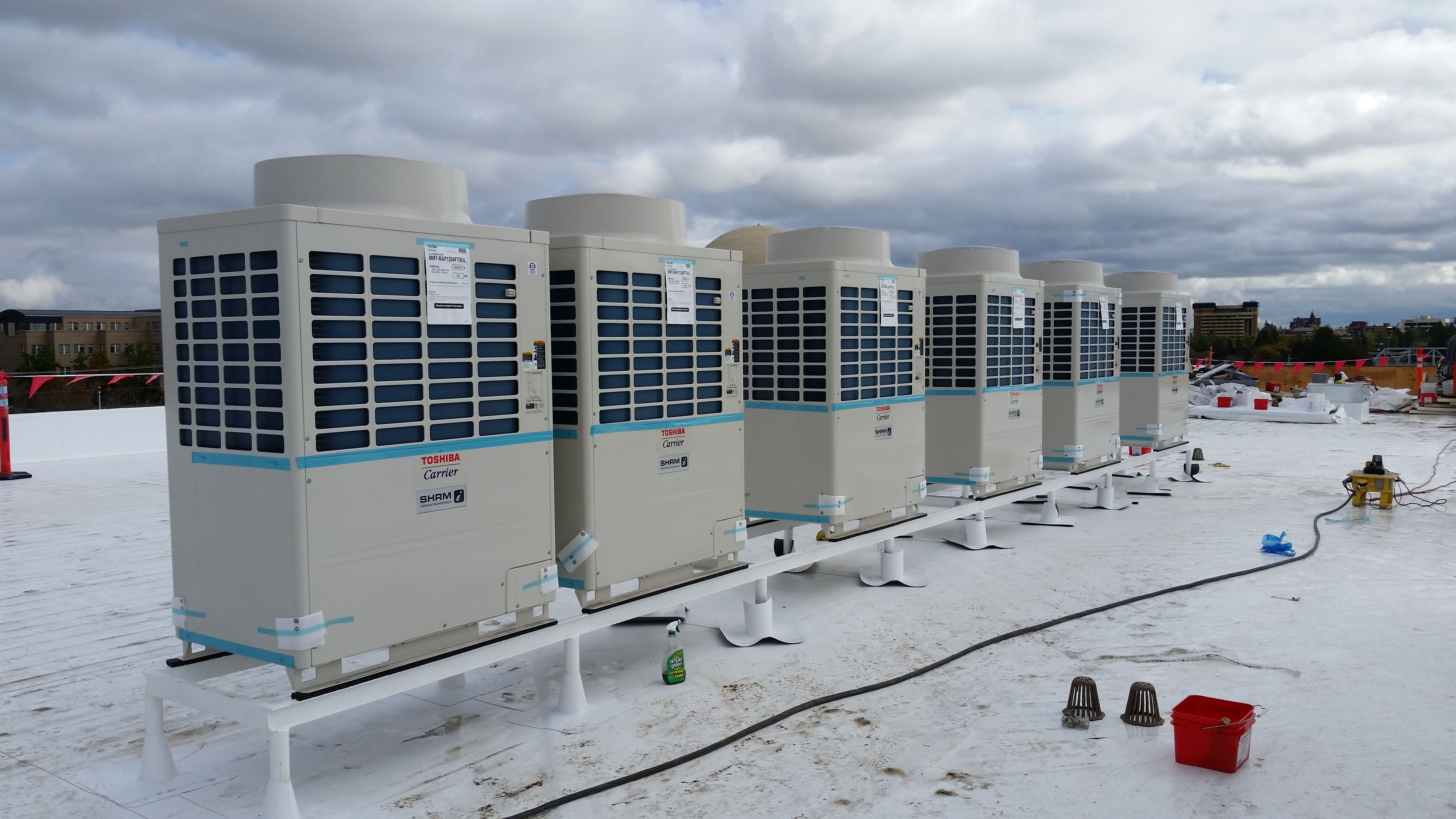 Commercial Design Build HVAC Air conditioning