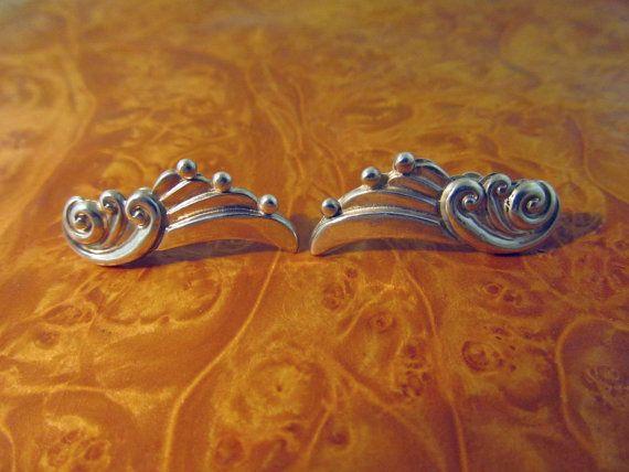 Vintage Margot de Taxco Earrings by TaxcoandMore on Etsy, $126.00