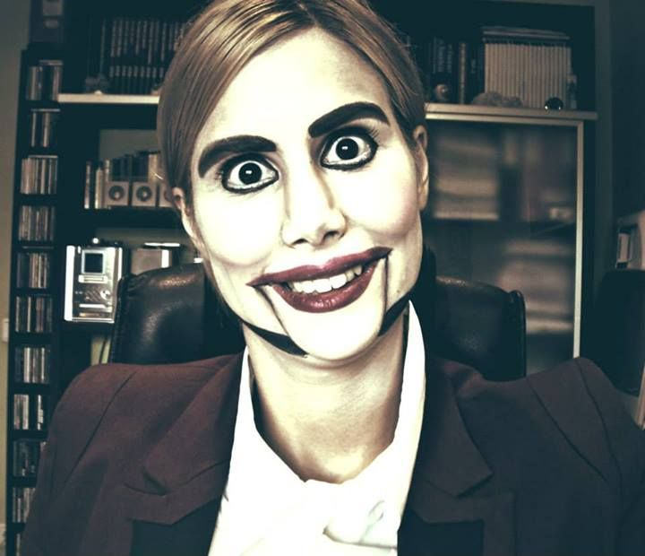 Ventriloquist Dummy Halloween Makeup Creepy Doll S Halloween Costumes Makeup Halloween Makeup Halloween