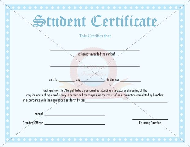 Outstanding Student Certificate Template Student Certificates