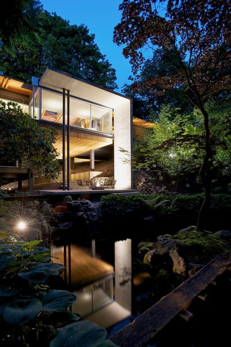Captivating Southlands Residence U2013 Ein Modernes Haus Im Wald Pictures