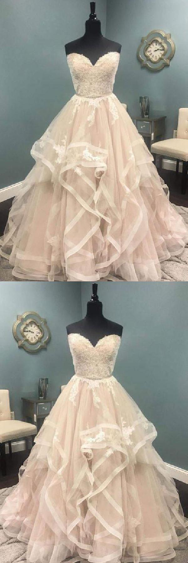 Custom made light ivory prom dresses aline prom dresses ivory