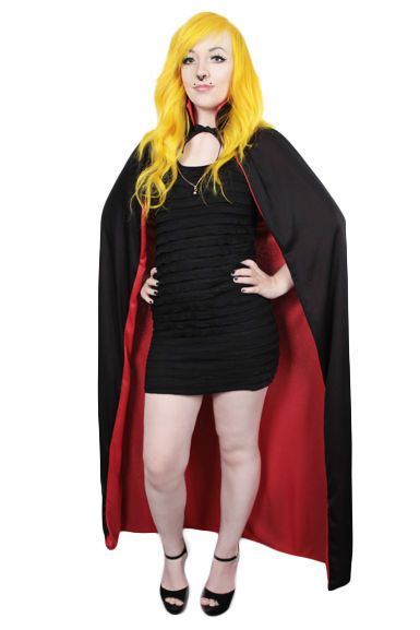 Wanna be Dracula? Here you go! Perfect Cape!