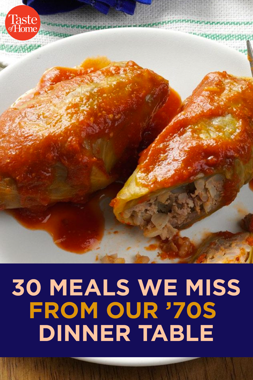 30 Meals We Miss from Our '70s Dinner Table | Vintage Recipes