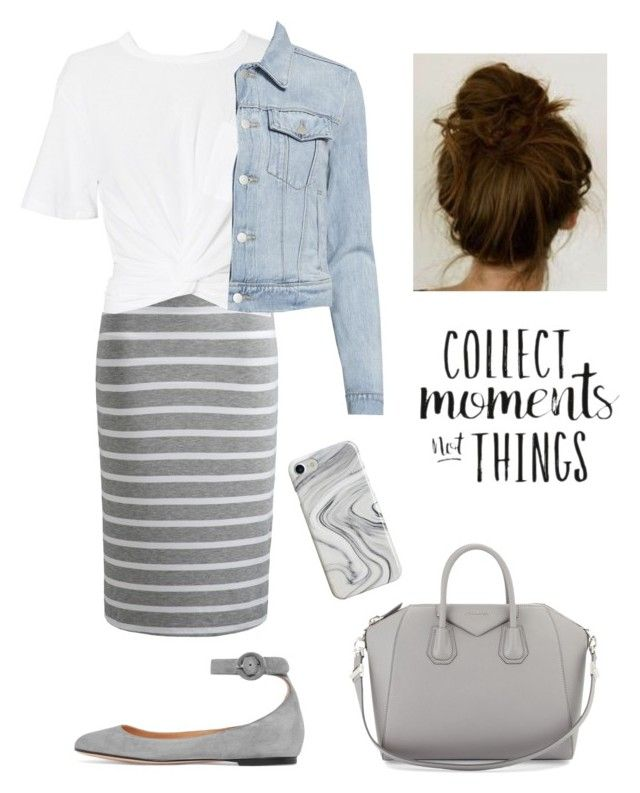 """""""Collecting Moments"""" by kaitydidwhat ❤ liked on Polyvore featuring Joules, T By Alexander Wang, J Brand, Gianvito Rossi, Givenchy and Recover"""