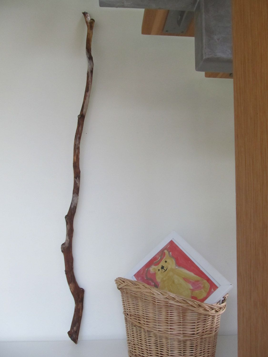 Sale 57 Quot Large Dritwood Branch Curtain Rod Diy Driftwood