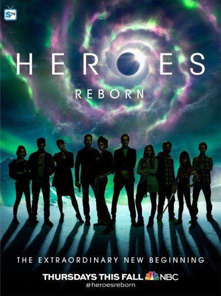 Ver Heroes Reborn Online O Descargar Con Imagenes Heroe
