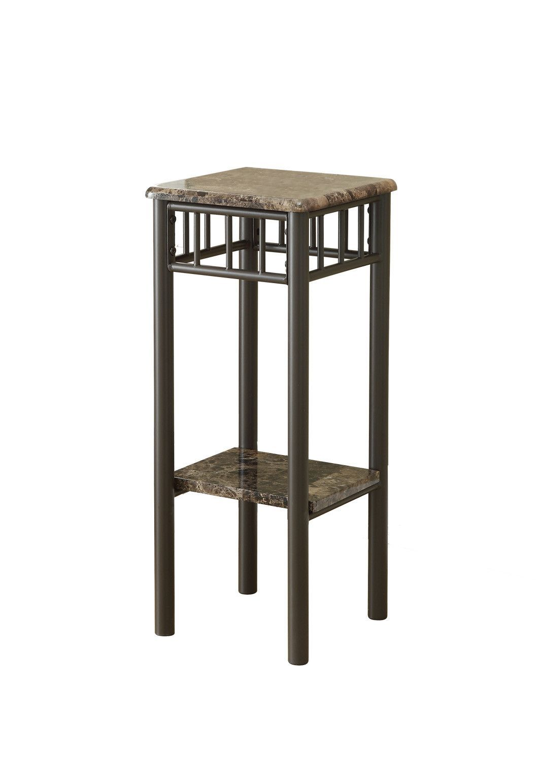 Accent Table Cappuccino Marble Bronze Metal Metal Accent Table Metal Plant Stand Small Lamps