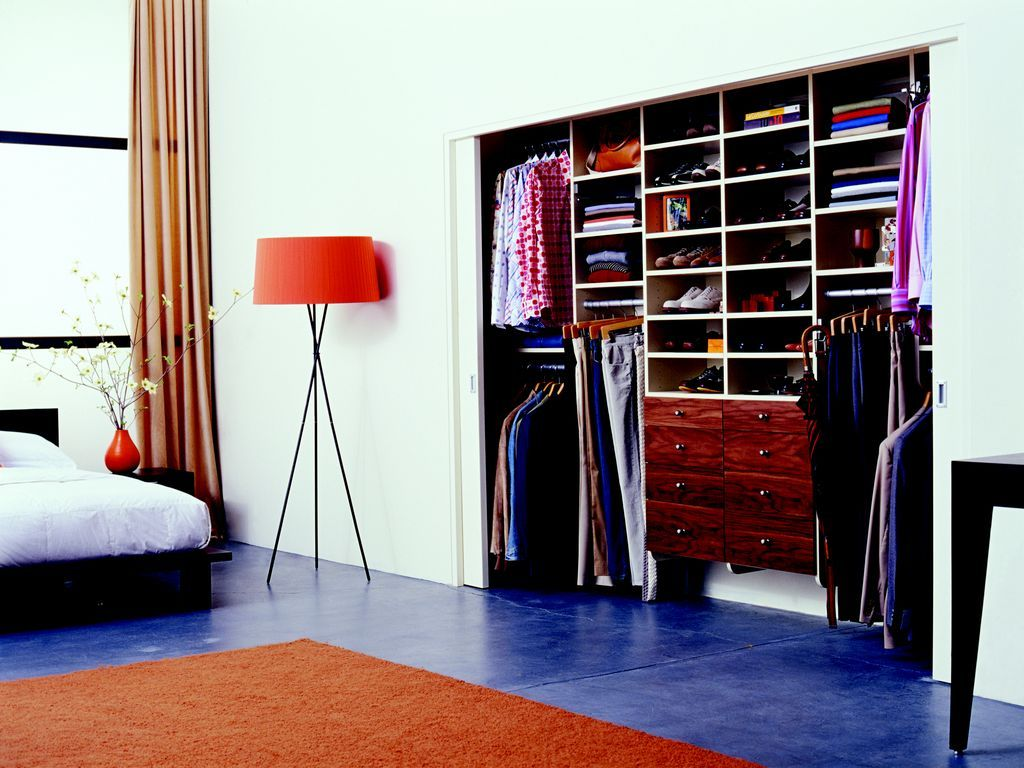 View This Great Closet With High Ceiling U0026 Built In Bookshelf By California  Closets Nashville.