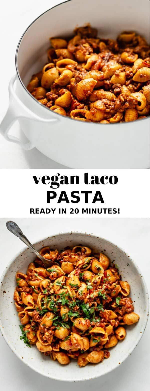 Photo of Vegan Taco Pasta