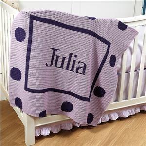 Purple Stroller Blanket | Lillian Vernon - Personalized Gifts for Kids | Lillian Vernon