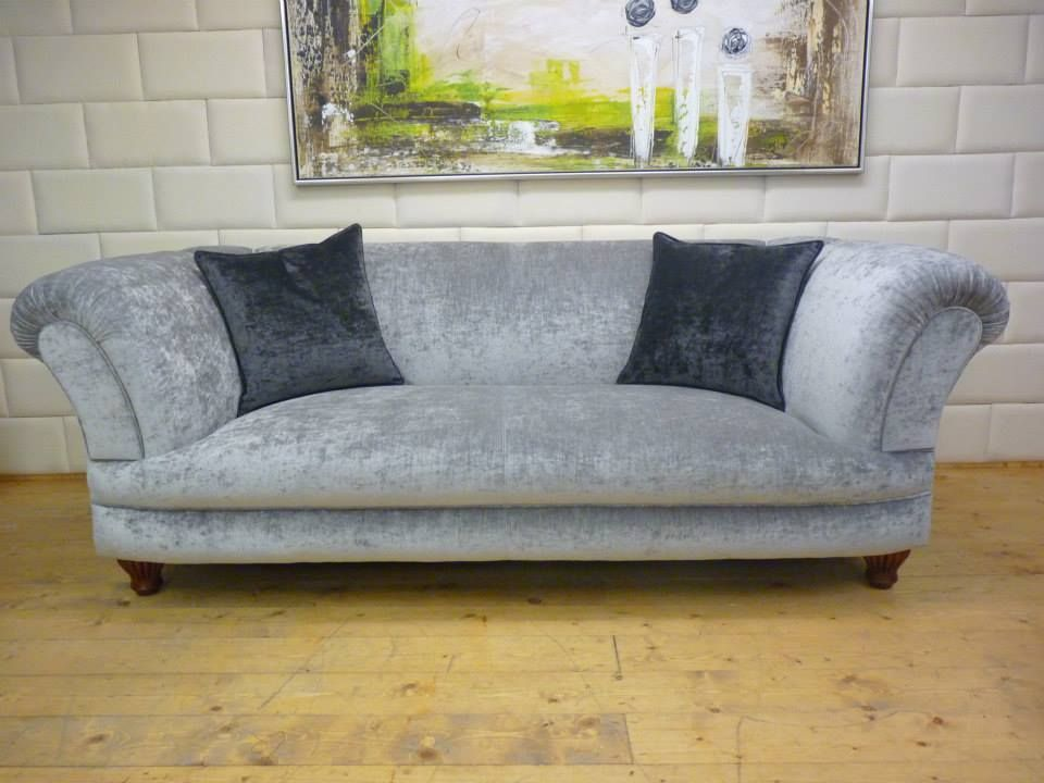 Chesterfield Sofa In Rosa Samt Wwwkippaxsofasde Seating