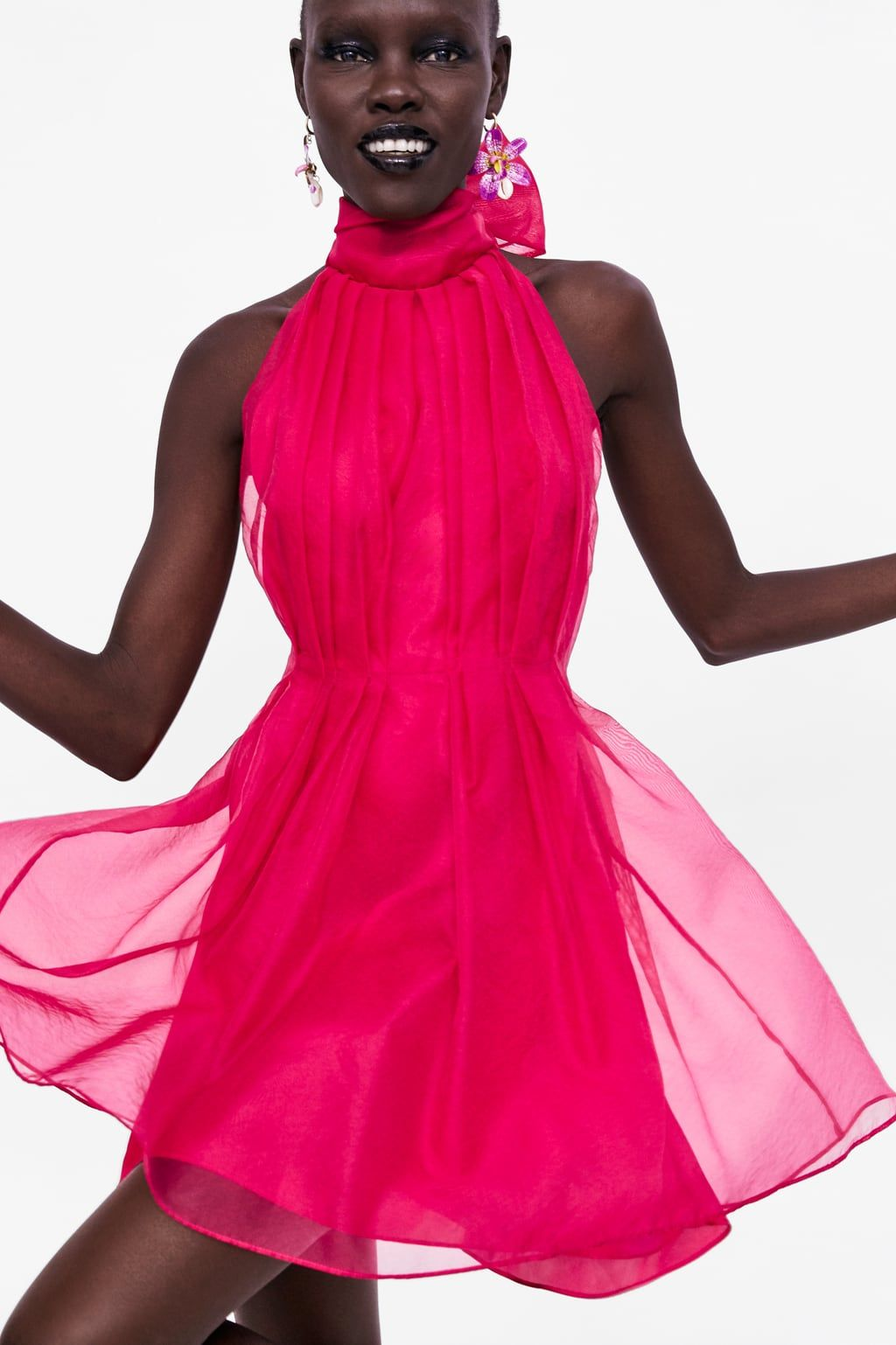 aa91e460 ORGANZA MINI DRESS - NEW IN-WOMAN | ZARA United Kingdom | High ...