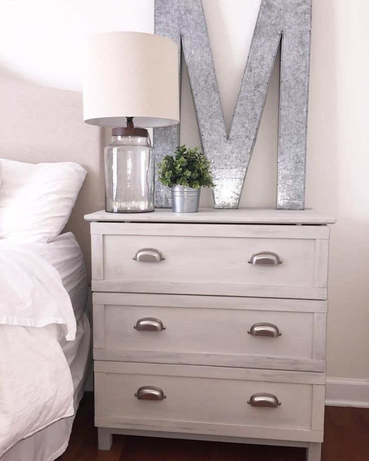 Amy Young On Instagram Ikea Dressers Turned Nightstands Such An Easy Diy Project Ikeahack Interiordesign Diyproject Farmhouse