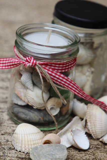 Photo of we all are dancers: Muscheln im Gläschen :: Treasure Glas