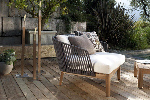 Comfortable Outdoor Furniture The Mood Collection From Tribu
